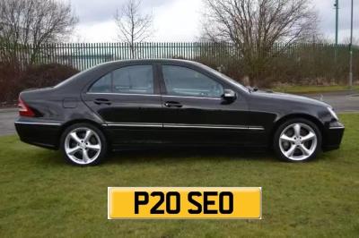 Mercedes C220 CDi with reg P20 SEO