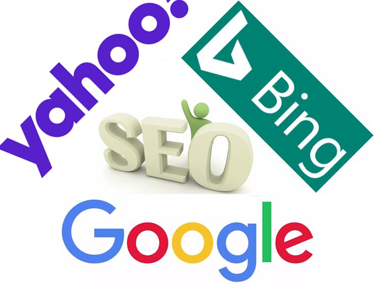 The SEO triangle of Google, Bing and Yahoo