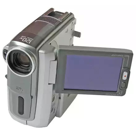 Compact digital video camera