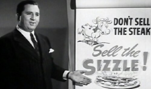 Elmer Wheeler, selling his sizzle